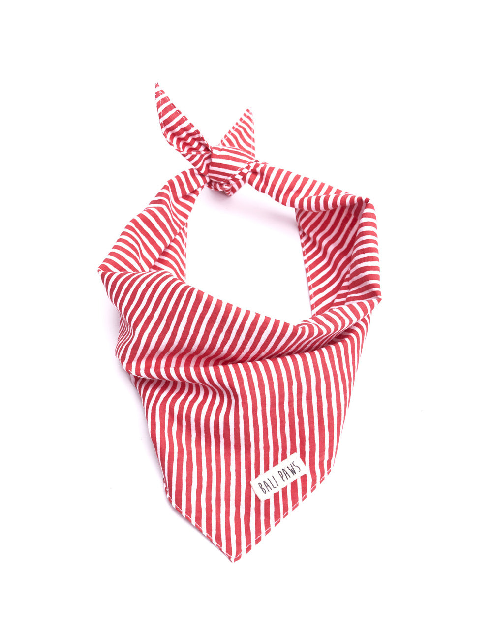 Red Stripe Bandana