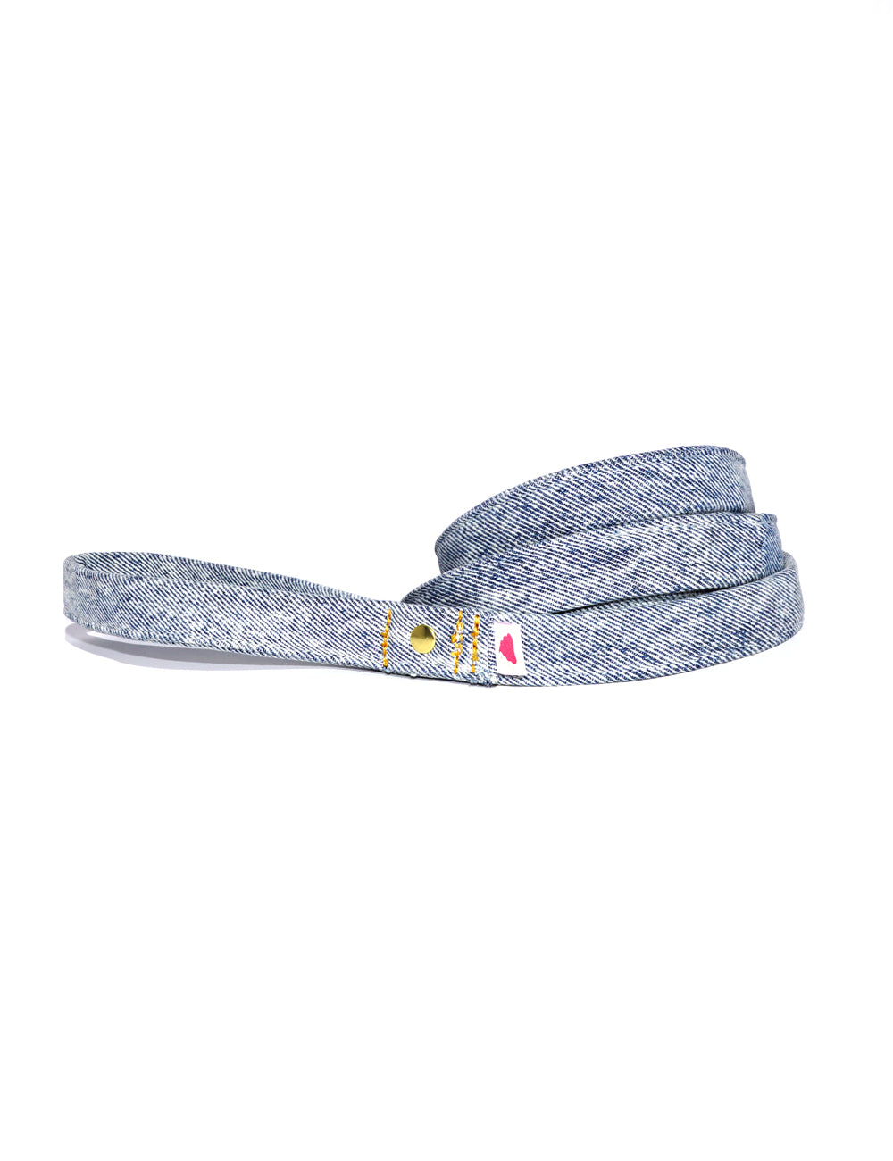 Recycled Denim Leash | Acid Wash