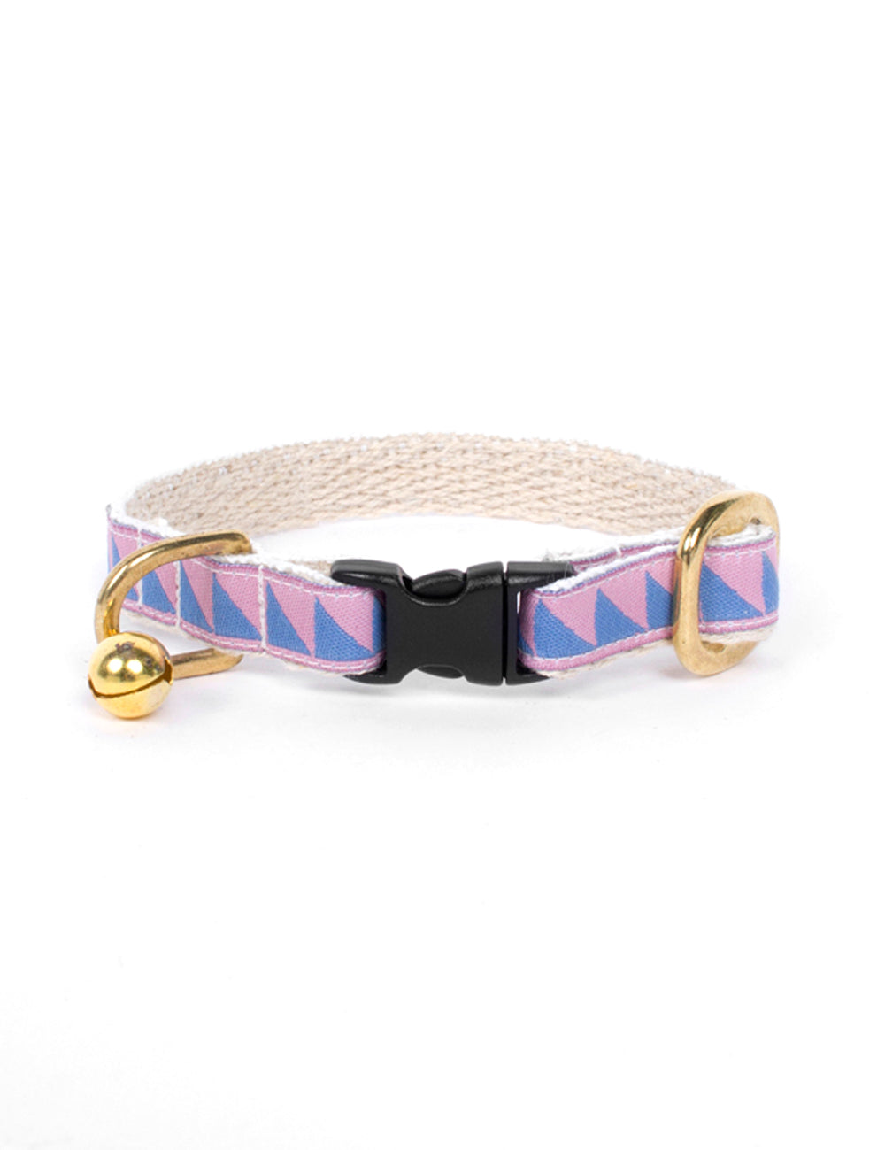 Nice Grill Cat Collar | Blush & Lake Blue