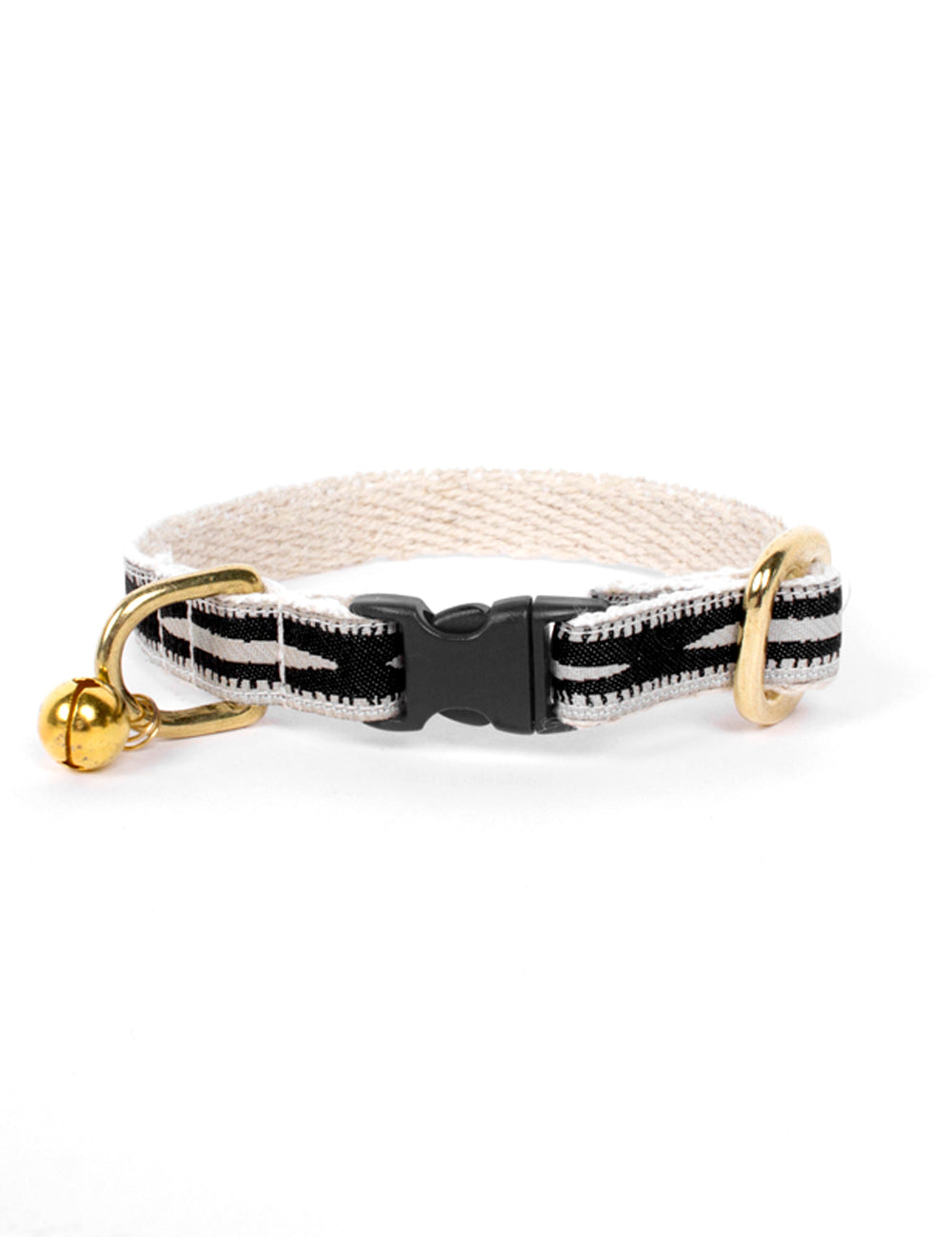 Braveheart Cat Collar | Cream & Black