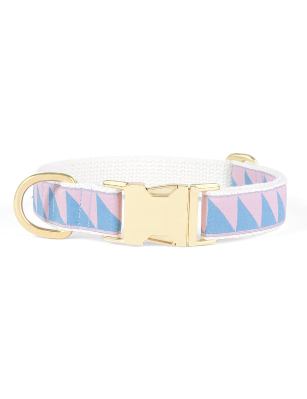 Nice Grill Collar | Blush & Lake Blue