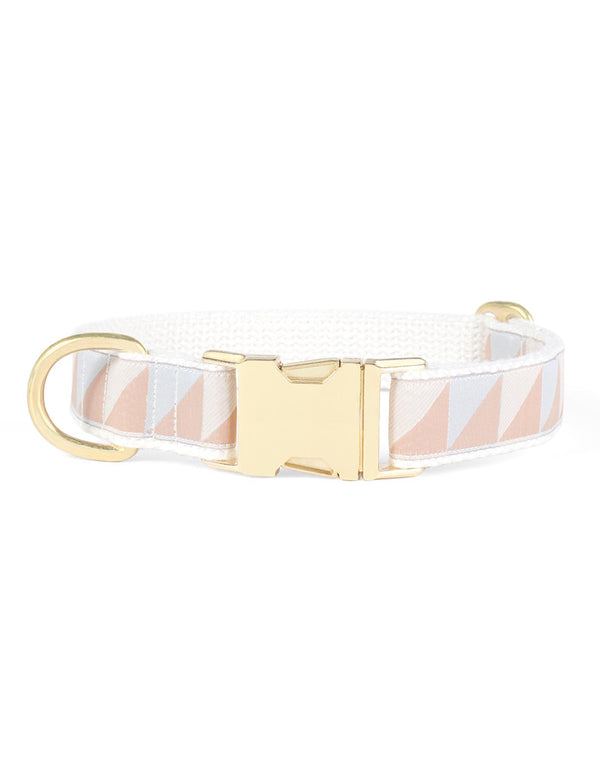Nice Grill Collar | Ice Blue, Camel & Ivory