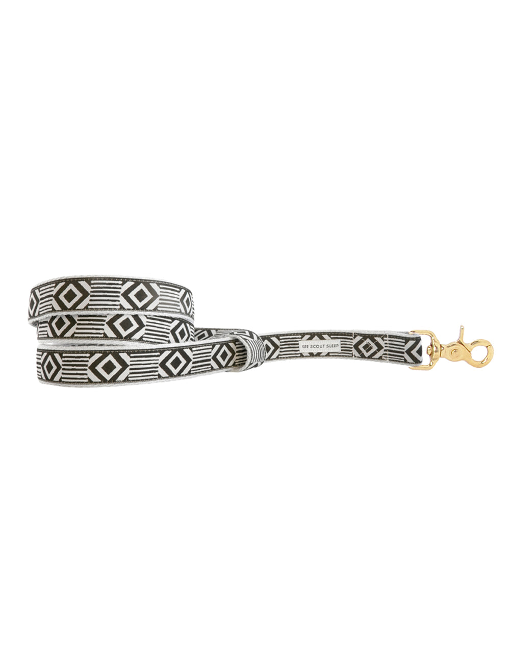 Out Of My Box Leash | Cream & Black