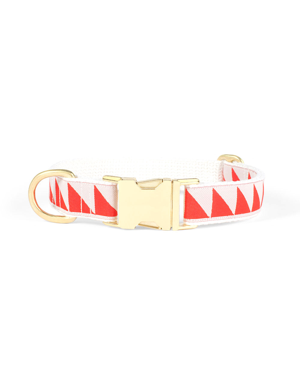 Nice Grill Collar | Cream & Vermillion