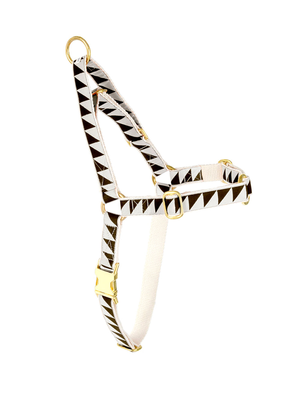 Nice Grill Goodwalk Non-Pull Harness | Cream & Black