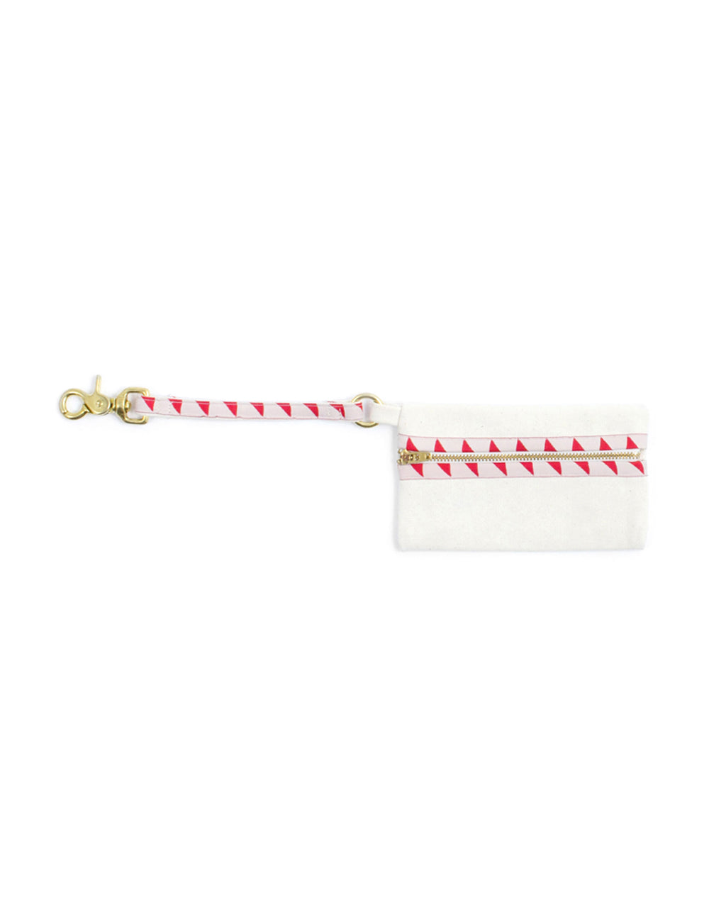 Nice Grill Pooch Pouch | Cream & Vermillion