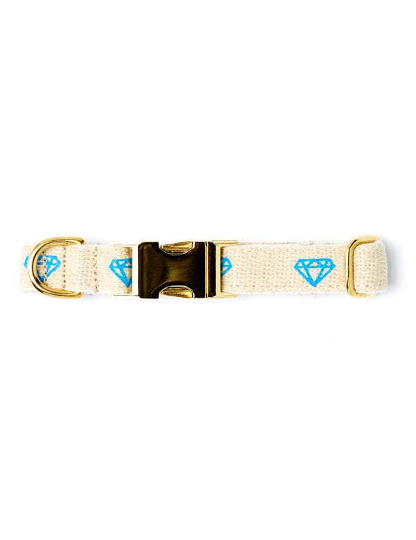 Diamonds Collar | Blue