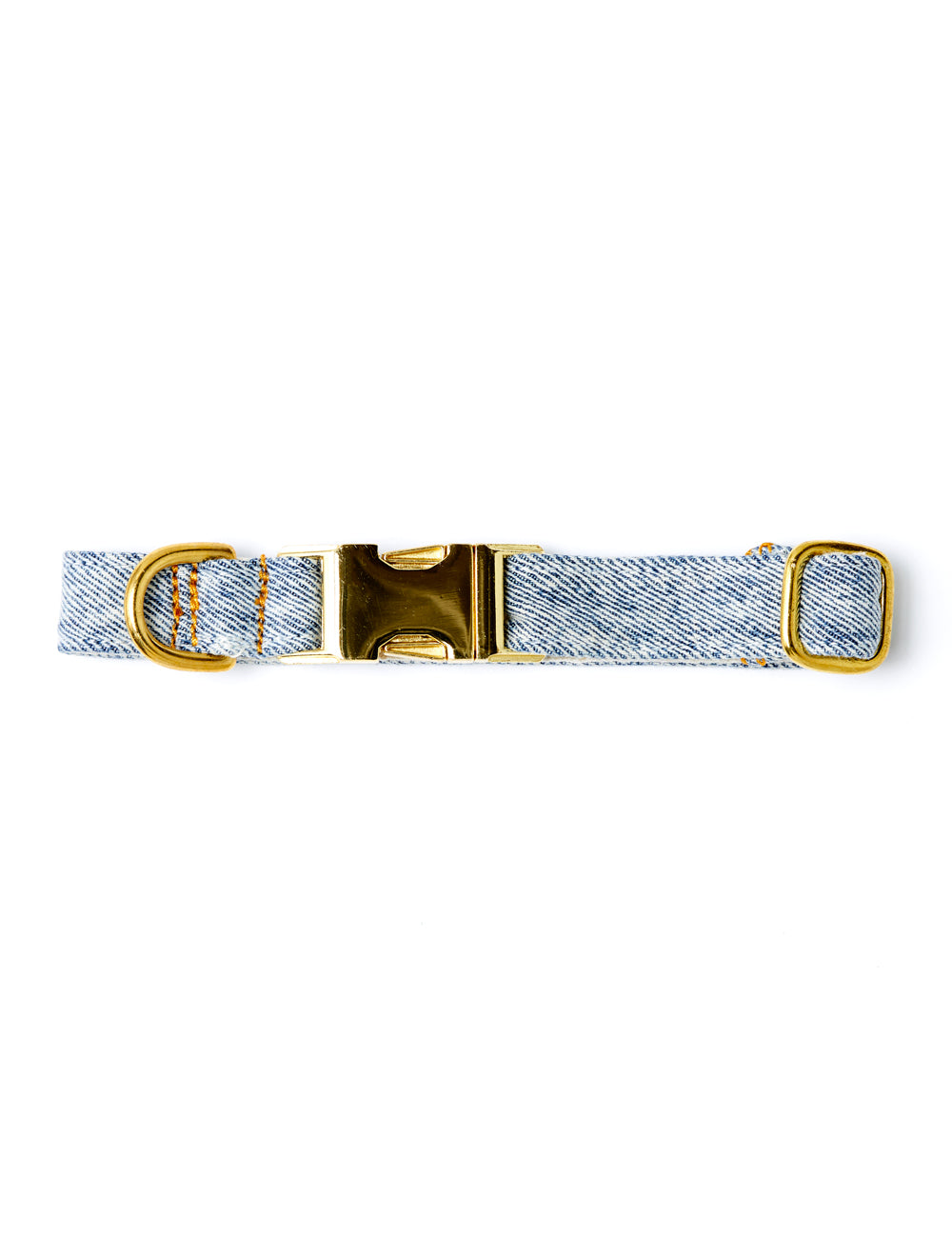 Recycled Denim Collar | Acid Wash