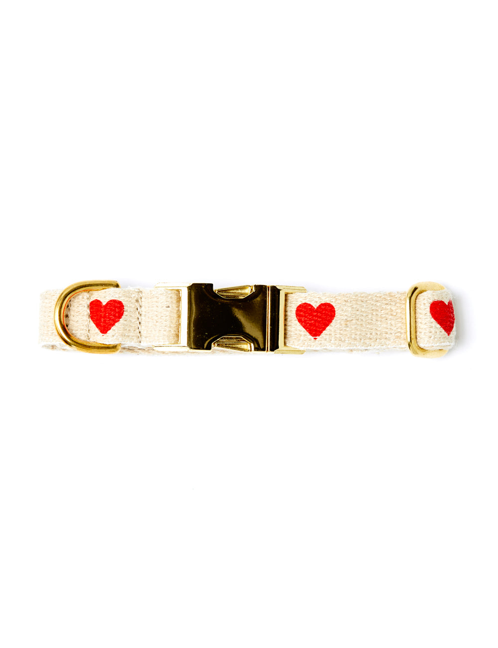 Heart Collar | Red