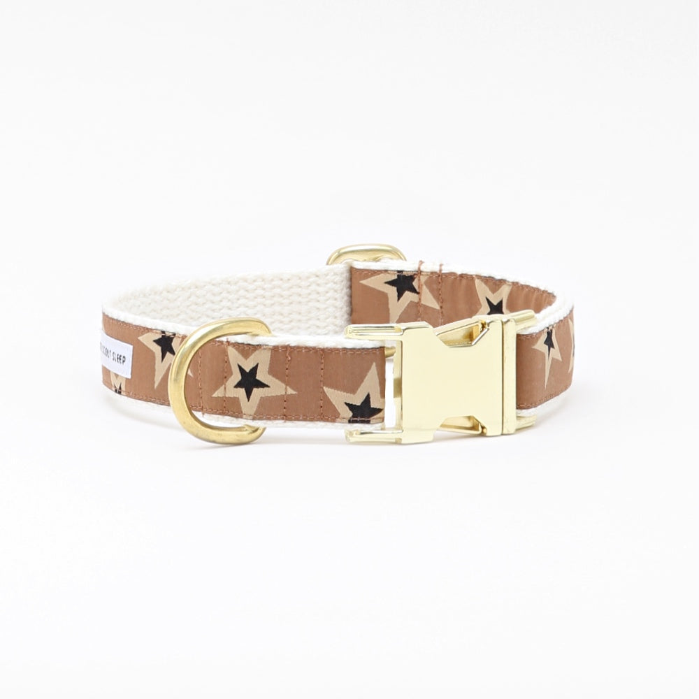 Starstruck Collar | Tan & Black