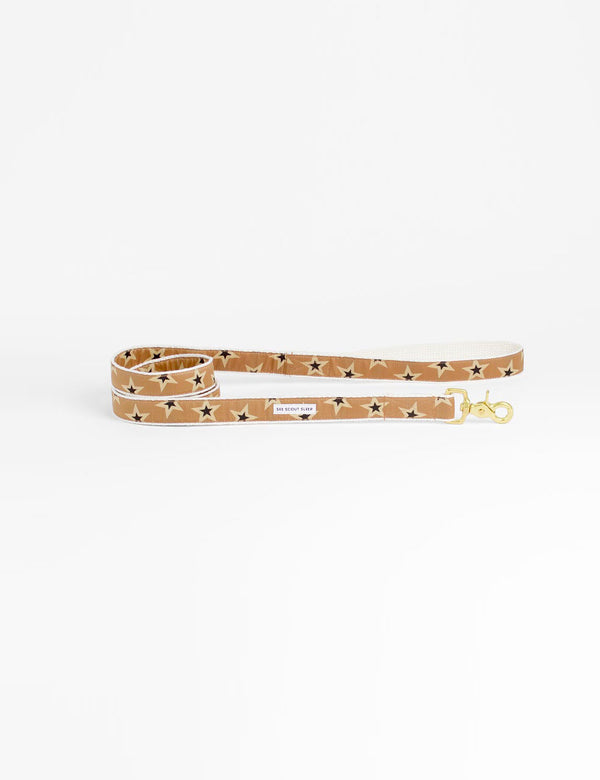 Starstruck Leash | Tan & Black