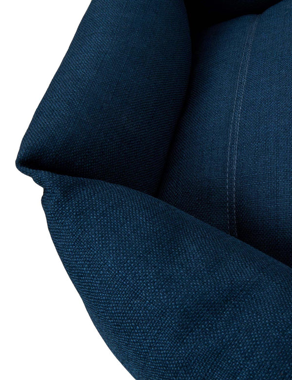 Hex Cushion | Harbor Blue