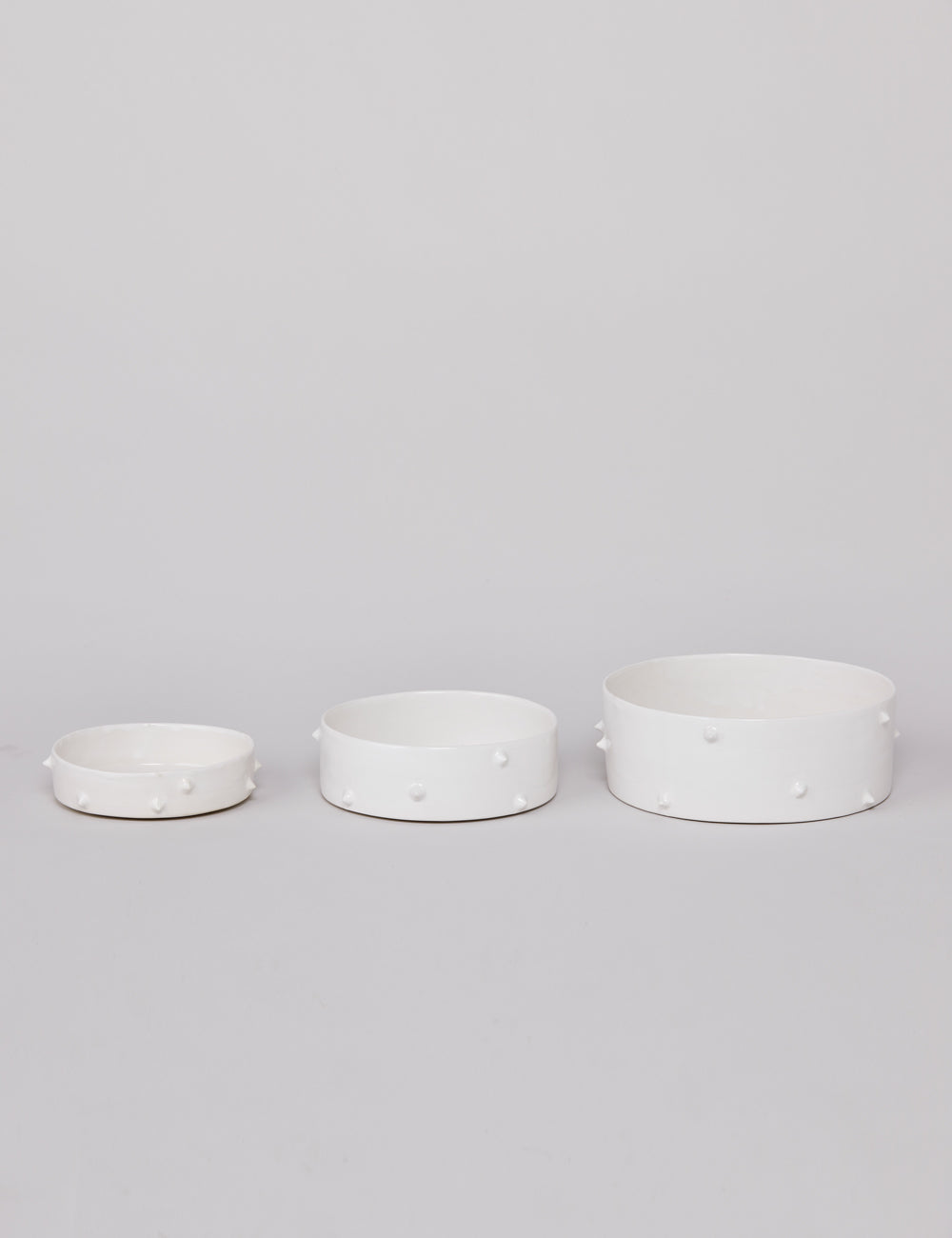 Spike Bowls | White