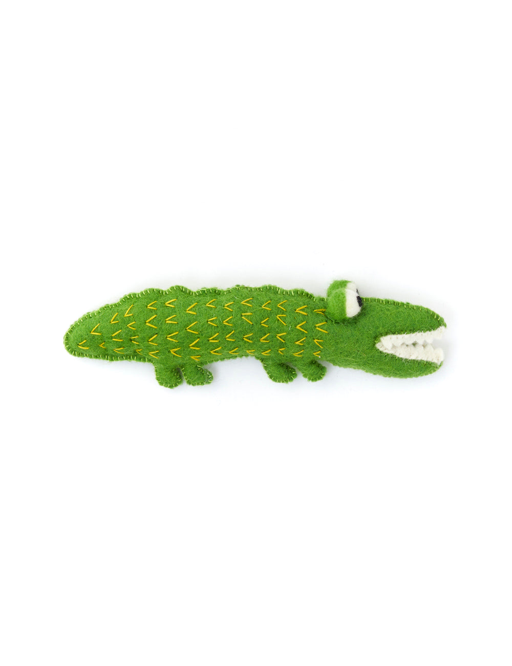Alligator Dog Toy | Green