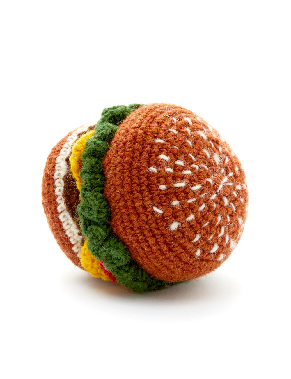 Hamburger Dog Toy | Multi
