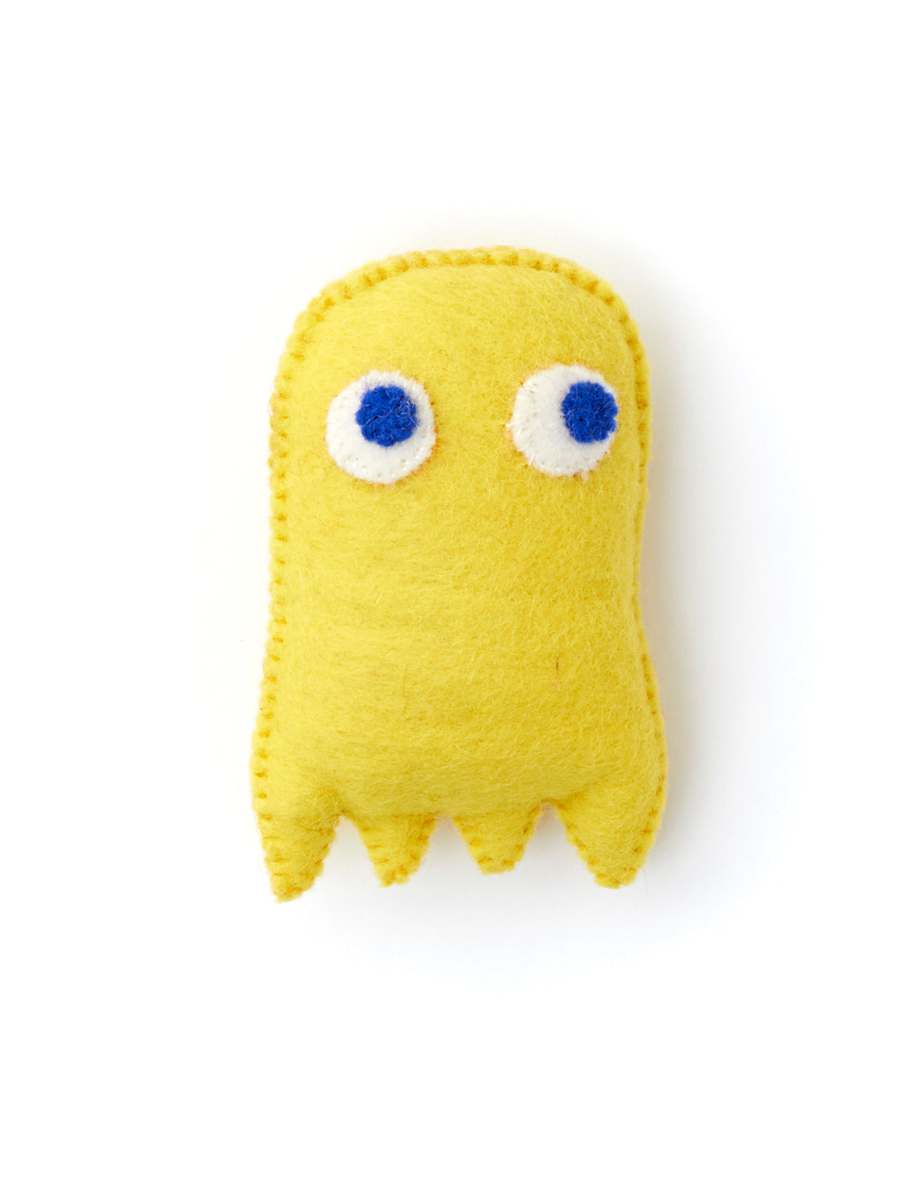 Pacman Dog Toy | Yellow