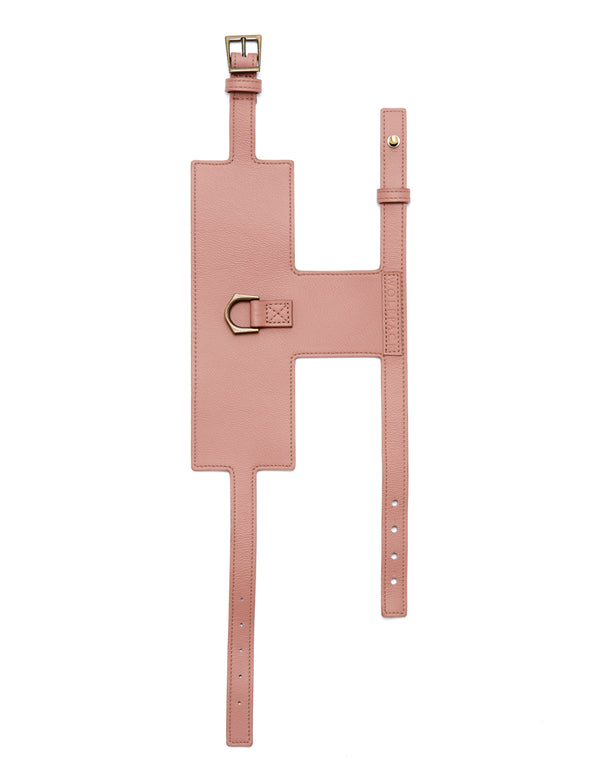 Miss Minimalist Harness | Rose