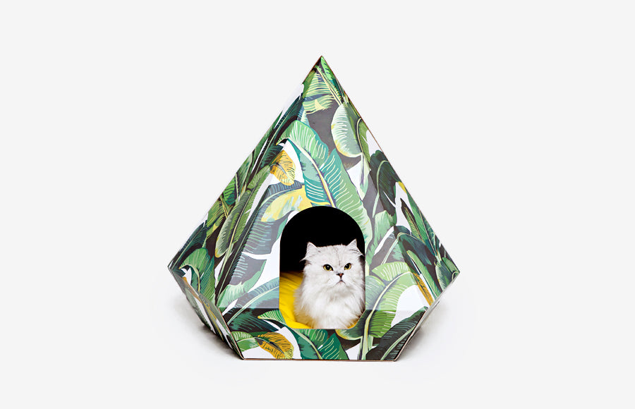 Cat Diamond Leaf