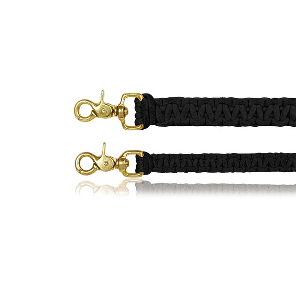 Macramé Dog Lead | Black
