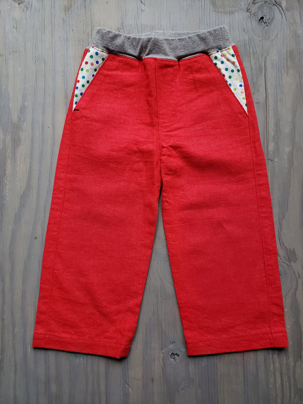 Red Fancy Pants