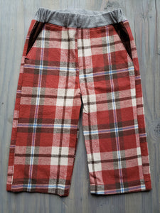 Red Plaid Flannel Fancy Pants