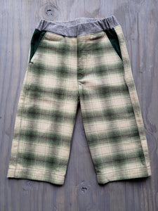 Green Plaid Flannel Fancy Pants
