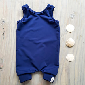 Swim Short Romper