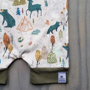Forest Critters Short Romper