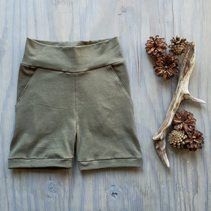 Kids Solid Shorts