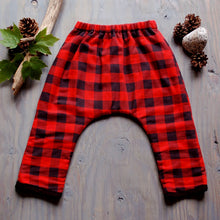 Buffalo Plaid Play Pants