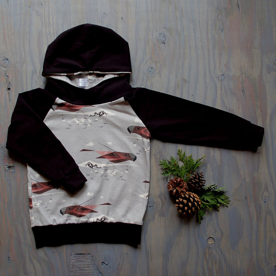 Rosy Finch Hoodie