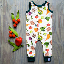 Veggie Friends Romper