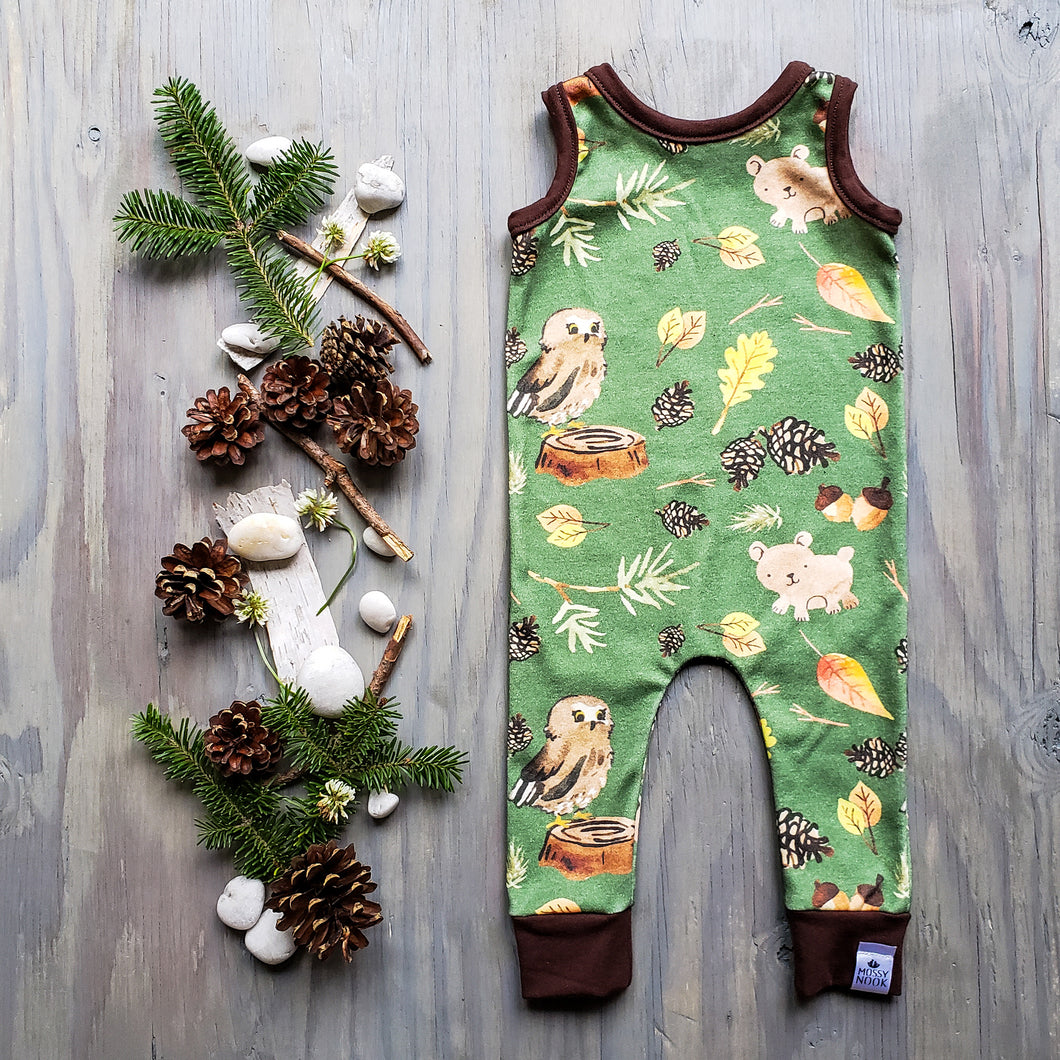 Forest Treasures Romper