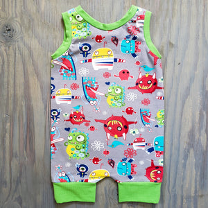 Monster Short Romper