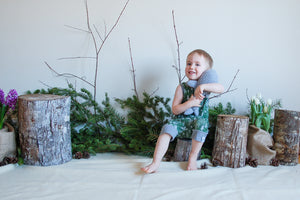 Happy Forest Short Romper