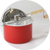 Whirley-Pop 6qt. Silver or Red