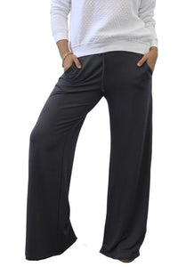 Washed Wide Leg Pant