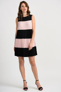 Pleated Trapeze Dress by Joseph Ribkoff