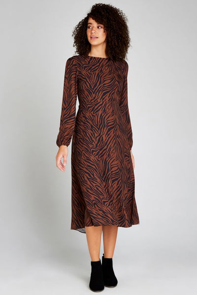 Animal Print Dress by Apricot
