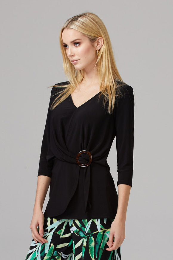 V Neck Wrap Top