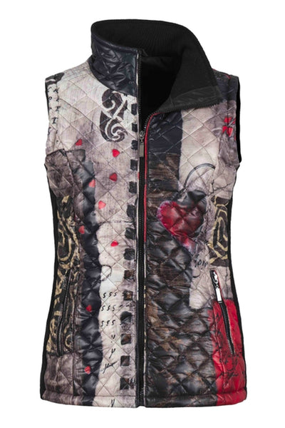Zipper Puffer Vest by Simply Art by Dolcezza