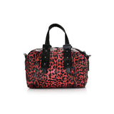 Two-Tone Geo Tile Mini Duffle