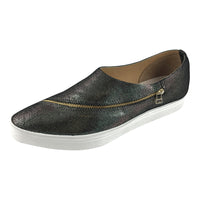 Slip-On Slant Zip