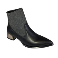 Sock It Slipper Bootie by All Black