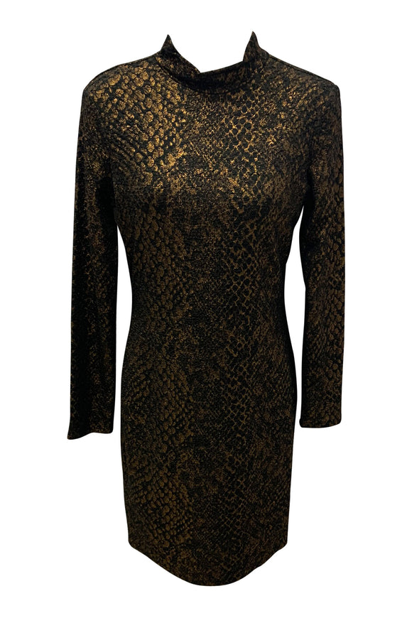 Reptile Gilded Dress