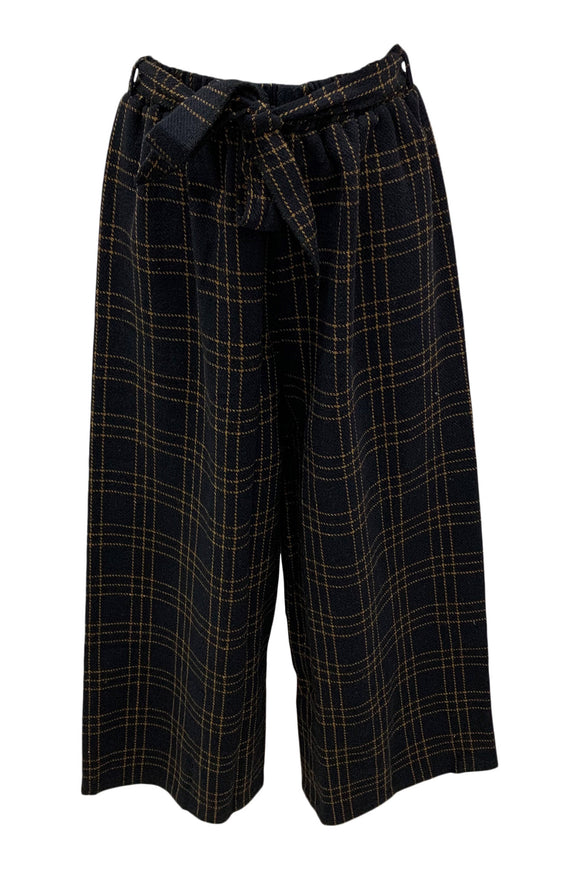 Plaid Crop Pant