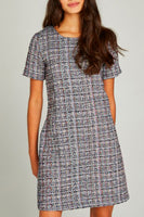 Tweed Shift Dress by Apricot