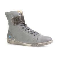 Amos Wool Lined Hi Tops in Dark Grey by Cloud Footwear