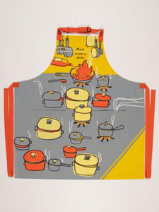 Man With A Pan Apron