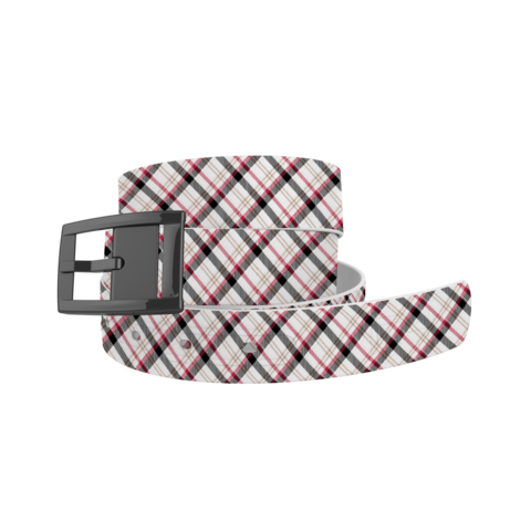 Avery Plaid Belt